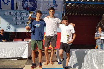 לינוי גבע ואיתי כפרי מובילים את אליפות ישראל לנוער בגלשני RSX