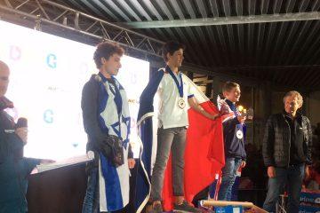 אייל צרור זכה במדליית כסף ולינוי גבע זכתה במדליית ארד באליפות העולם בגלשני ביק 6.8 שנערכה בגרדה, איטליה