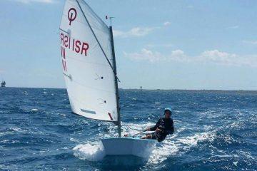 טל שדה סיים במקום ה-4 באליפות אירופה במפרשיות אופטימיסט