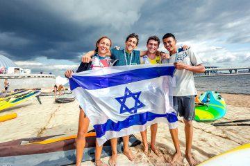 פודיום ישראלי מלא באליפות העולם לגלשני רוח עד  19