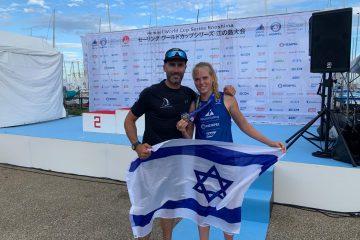 מדליית כסף לספיצ'קוב בגביע העולמי באתר האולימפי