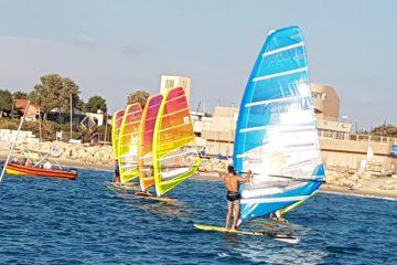 יואב עומר ניצח בתחרות המבחן בשדות ים